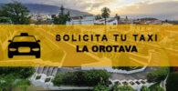 Números de Radio Taxis en La Orotava