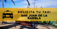 Números de Radio Taxis en San Juan de La Rambla
