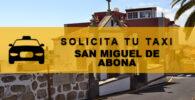 Números de Radio Taxis en San Miguel de Abona